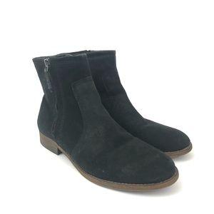 Franco Sarto 9 Kelvin Nubuck Leather Ankle Boots